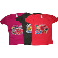 Girls Round Neck Tops pack of 3