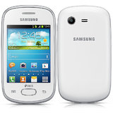 Samsung Galaxy Star S5282 (Ceramic White) available at ShopClues for Rs.4799