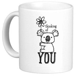 Giftcart - Thinking Of You Personalised Mug