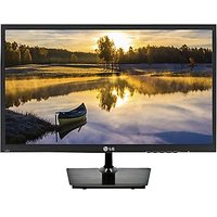 LG 19 Inch LED Backlit LCD - 19M37A Monitor (Black)