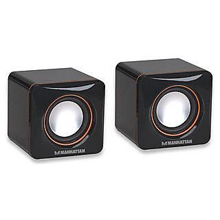 Manhattan MH USB Speaker, Black-161435