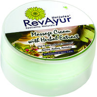 RevAyur Massage Cream With Herbal Extract (200 Gm)