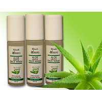 Abeers Aloe Gentle Face Wash (Set of 3)