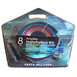 New Universal Car Amplifier Installation / Wiring Kit With Parts