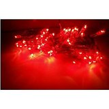 Festive Rice Rope Lights -Red  (Set Of 4)