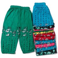 FABLOOK girls printed pants pack of 12 piece multicolour for 2 to 3 year