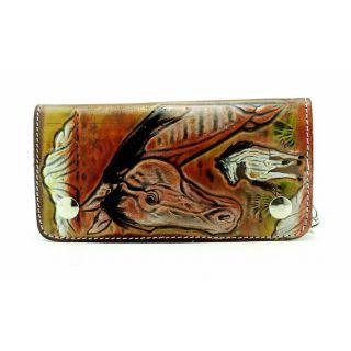 sushito Pure leather  handicraft walletchain 2ddj jsmfhwt0258