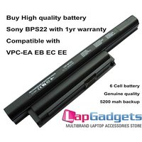 Sony Vaio Battery VGP-BPS22 BPL22 FOR SONY VPC EA EB EC EE SERIES LAPTOP