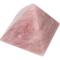 Choti Jewels Erose Quartz Pyramid - (5cm X 5cm,Pink Rose)