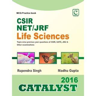 CSIR NET/JRF  Life Sciences MCQ book 2016