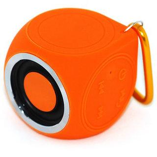 waterproof Wireless Bluetooth Speaker (Orange)