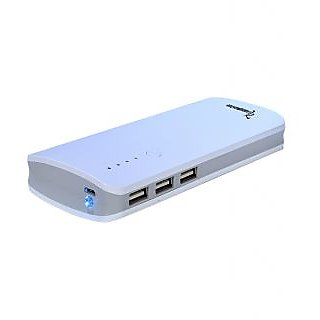 Lappymaster POWERFUL PORTABLE POWER BANK PB-060 GY -13000 MAH( WHITE GREY)