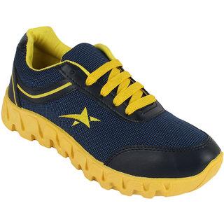 Bersache Black Yellow-265 Men/Boys Sports Shoes (Running Shoes)