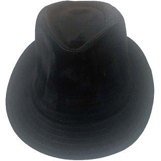 Stylish Export Quality Hat Cap Hat Topi For Man Women Boys Girls Black Hat