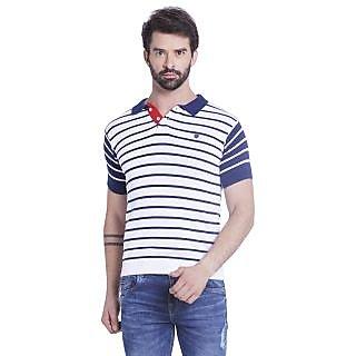 Globus MenS White Colored Polo T-Shirt