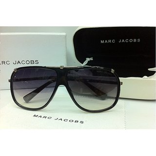 Marc Jacobs MJ 305/S Black-Silver Sunglasses For Men