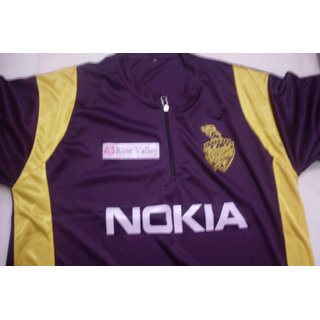 IPL Jersey Cricket T20 India jersey t shirt KolKata Knight Riders KKR
