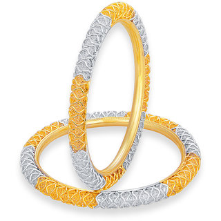 Sukkhi Youthful LCT Stone Gold And Rhodium Plated AD Bangle For Women