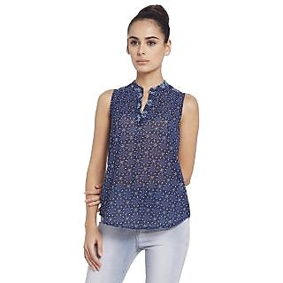 Globus WomenS Navy Colored Top