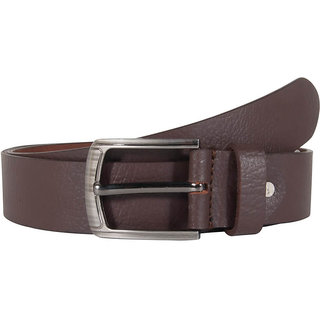Snoby  Black  Leather Belt (SBY10129)