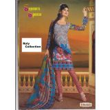Ethnical Indian Cotton Dress Material Salwar Kameez Ladies Suit Shalwar