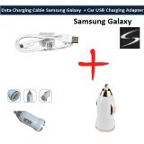 Car Usb Adapter  Micro Usb Data Cable For Samsung Galaxy S3 Grand Note S4 Duos White