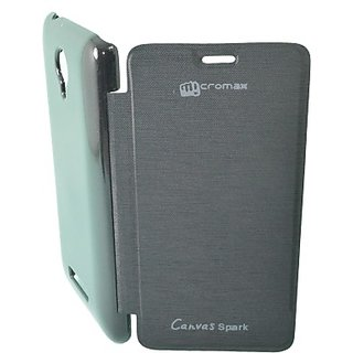 Totta Flip Cover for Micromax Canvas Spark