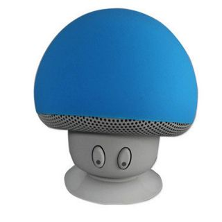 Waterproof-Bluetooth-Mushroom-Speaker(Blue)