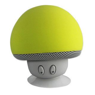 Waterproof-Bluetooth-Wireless-Mushroom-Speaker(Green)