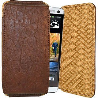 Totta Pouch for HTC One M8 Eye (Brown)