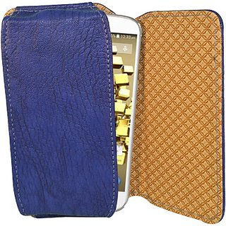 Totta Pouch for Micromax Bolt Q324 (Blue)