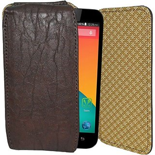Totta Holster for Karbonn Sparkle V Android One (Brown)