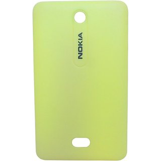 Totta Back Replacement Cover for Nokia Asha 501 (Yellow)
