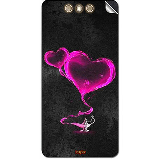 Instyler Mobile Skin Sticker for XOLO BLACK