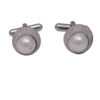 sushito Attractive Gujarati Silver Cufflink JSMFHMA0818