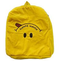 Novel Yellow Humpty Dumpty Smiley School Bag