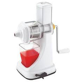 Sagar Kitchenware Fruit Juicer Deluxe Plastic, Stainless Steel Hand Juicer