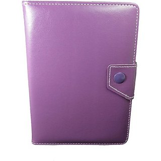 Totta Book Cover For Iball Slide 3G 7271 Hd70 (Purple)
