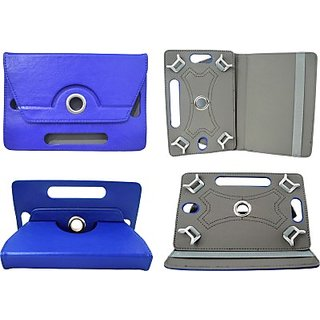 Totta Book Cover For Micromax Funbook (Blue)