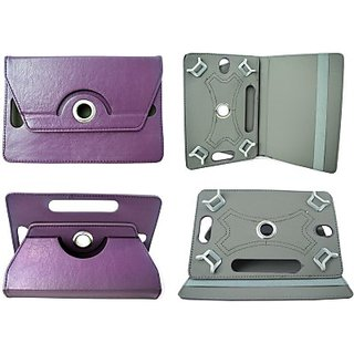 Totta Book Cover For Intex Ibuddy Connect 3G (Purple)