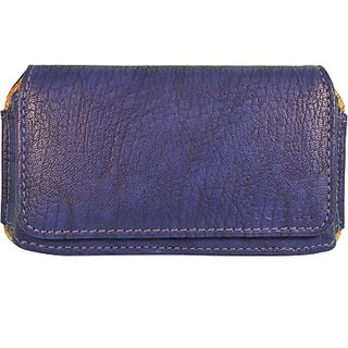 Totta Pouch For Intex Aqua Trend (Blue)