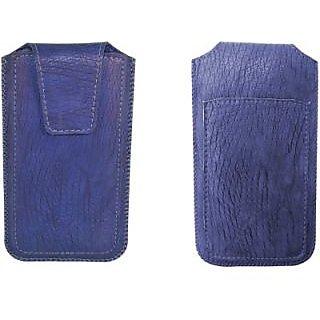 Totta Pouch For Lava Iris Alfa (Blue)