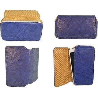 Totta Pouch For Vivo X6 Plus (Blue)