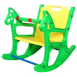 huskey Multicolor Rocking Chair