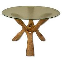 Wooden Tripod Stand Cobra Stand Wooden Table