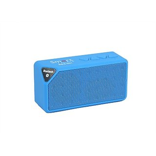 Smartmate-SBS-001-Wireless-Mobile/Tablet-Speaker-(Blue,-1.0-Channel)