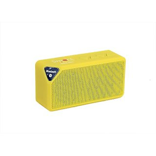 Smartmate-SBS-001-Wireless-Mobile/Tablet-Speaker-(Yellow,-1.0-Channel)