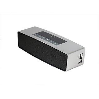 Smartmate SBS - 002 Wireless Mobile/Tablet Speaker (Silver, 1.0 Channel)