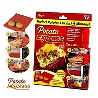Potato Express Cook Perfect Potatoes in 4 Minutes!