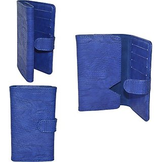 Totta Wallet Case Cover For Huawei Enjoy 5S (Blue)